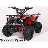 """Toronto 125cc RG 7"""" Automatik + RG   MIDI QUAD"""