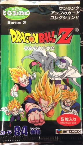Dragonball Z Series 2 Trading Cards Japanese 5 Card Booster Pack