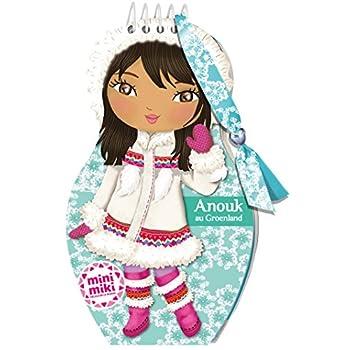 Minimiki - carnet créatif - Anouk au Groenland