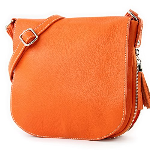 Made Italy, Borsa a tracolla donna Orange