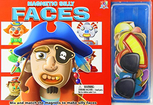 Magnetic Silly Faces [With 36 Magnetic Pieces] by Top That! Kids (Editor) (1-Jun-2003) Hardcover