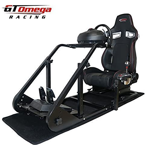 GT Omega ART Racing Simulator Cockpit RS9 Seat Suitable for the Thrustmaster TX Racing Wheel Ferrari 458 wheel TH8A shifter