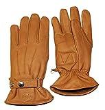 Skorpion Handschuh BOBBER Lederhandschuh Motorrad braun Größe XL