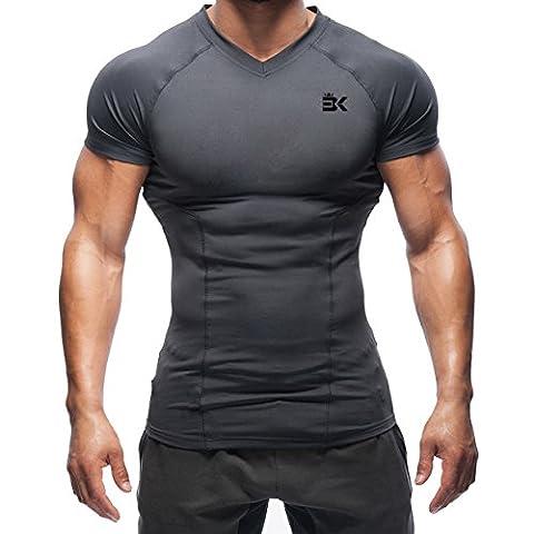 Broki - T-shirt - Homme - gris - X-Large