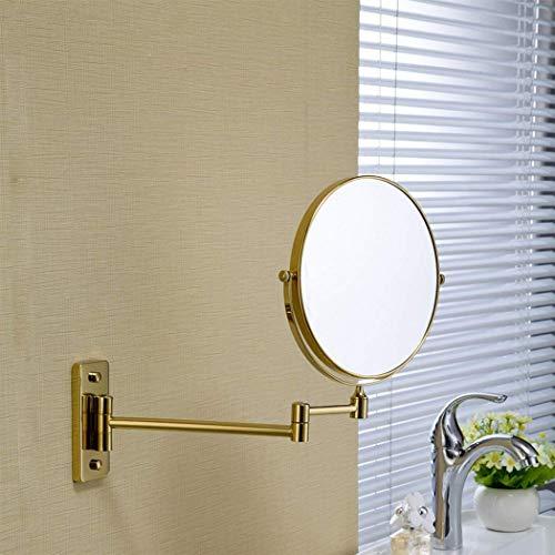 XP Zwei Modelle Golden Bad Spiegel Wand-Vergrößerungsspiegel Vergoldet Vanity Spiegel Einstellbare...
