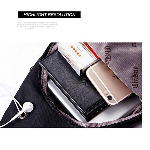 Bust Nylon Tessuto da viaggio viaggio respirabile portatile 30 * 17 * 7 borsa grande Messenger Bag Corset , 762 army green 345 army green