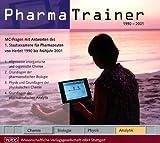 PharmaTrainer 1990-2001, 1 CD-ROM MC-Fragen des 1. Staatsexamens für Pharmazeuten von Herbst 1990 bis 2001. Chemie, Biologie, Physik, Analytik. Für Windows 95