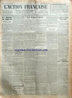ACTION FRANCAISE (L') [No 204] du 23...