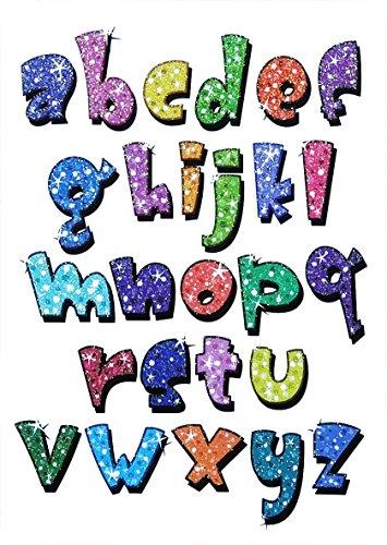cokohappy-5-sheet-flash-poudre-a-z-anglais-mot-temporaire-pour-enfant