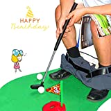 Toilettes Toilettes Golf, Potty Putter Toilettes Golf Sport Jeu Salle de bain Mini Golf Formation Cadeau Jouets