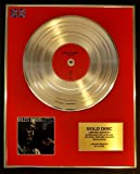 MILES DAVIS/LTD. EDITION CD GOLD DISC/RECORD/KIND OF BLUE