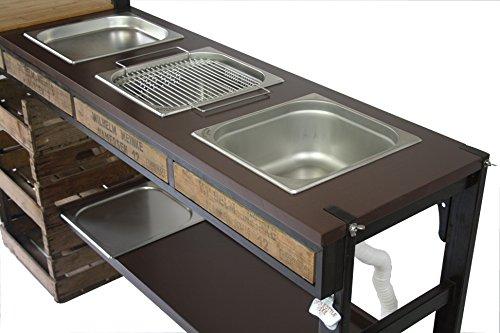 Außenküche Mit Spüle : Outdoorküche außenküche gartenküche sommerküche partyküche mit