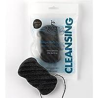 Esponja Konjac para El Cuerpo – Esponja lufa natural con carbón de bambú 100% orgánica