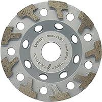 MARCRIST diamante-muela de copa HU850 115 mm x 22.2 disco de esmerilado universal