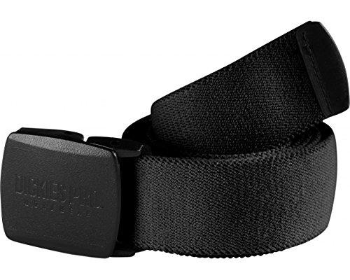 Dickies Pro Gürtel mit Schnellverschluss, Metallfrei, Stretch, Lightweight (Schwarz)