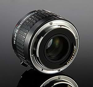 Yongnuo teleconverter YN-2.0XII téléconvertisseur pour Canon EOS-5D, EOS-5D M ARK II, EOS-5D M ARK I II, EOS-6D, EOS 7D, EOS 350D-EOS-400D , EOS-450D, EOS-500D, EOS-600Da, EOS-550D, EOS-600D, EOS-650D, EOS-1100D, EOS-1000D, EOS-10D. EOS-30D-20D.EOS, EOS-40D, EOS-50D