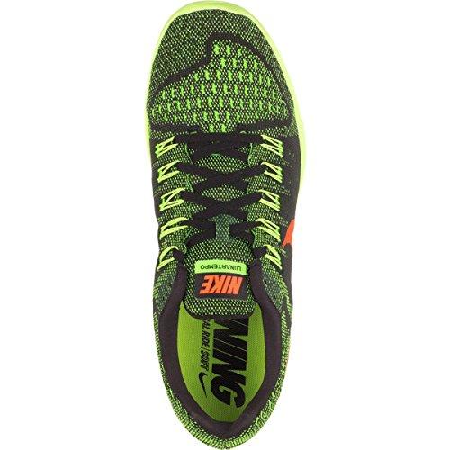 Nike - Lunartempo, Sneakers da uomo Negro / Naranja / Verde (Black / Hyper Orange-Grn Strike)