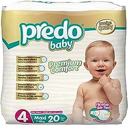 Predo Baby MAXI Eco Pack - 7-18 Kg, 20 Pcs