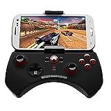 JIN El Soporte telescópico inalámbrico para Gamepad Bluetooth (teléfono móvil de 5,5 Pulgadas) se alimenta de la función Multimedia del Controlador de Juegos de Pollo Compatible con Android/iOS/P