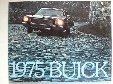 Prospekt / brochure - 1975 Buick (Book) mit Skyhawk, Skylark, Century, Riviera, Le Sabre, Estate Wagons, Electra - Original - sehr schön