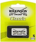 Wilkinson 7000112e–Lames de rasoir à double tranchant, 5unités