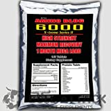 BCAA + GLUTAMINE 5000mg 140 Tablets Mega Amino Acids PROTEIN BODYBUILDING PACK - 1st CLASS UK P&P from BULL ATTACK