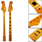 21 Bünde Ahorn-Holz-4 Saiten Bass E-Gitarre Jb Hals Für Jazz Style Bass Ersatz \ Musical Zubehör Stuff Part-Werkzeug-Gerät-Instrument Erweiterte Getriebe Equipment Supplies Spielen