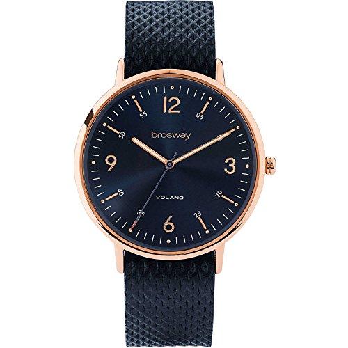 La hora del reloj Sólo WVO06 azul Hombres Brosway