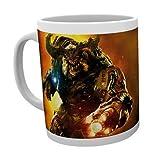GB Eye Doom, Cyber Demon Mug, Multi-Colour by GB Eye Limited