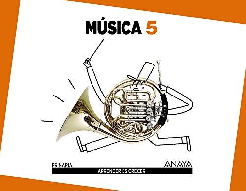 Música 5. (Aprender es crecer) - 9788467833744 por Alfonso Cifuentes Padrino