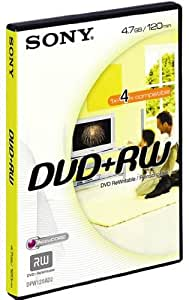 Sony DVD+RW Enregistrable et Réinscriptible 4.7 Go / BV DPW120AVD