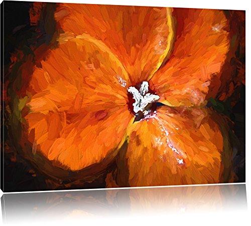 belle cresson de floraison le format Deluxe: 120x80 cm sur toile, énorme XXL Photos...