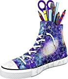 Ravensburger 11219 3D-Puzzle Sneaker, Galaxy Design