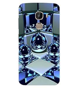 ColourCraft Digital Design Back Case Cover for LeEco Le 2