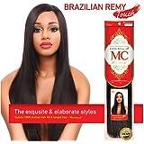 "Michelle Human Hair Blend Weave Brazilian Remy Touch Yaki 14"" 30 (Buy 1 Get 1 Free)"