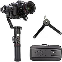 Zhiyun Crane 2 (2017 nuevo) estabilizador de mano de 3 ejes cardán con Follow Focus control para DSLR y cámaras sin espejo hasta 7 libras, es decir, Canon 5D2, 5D3, 5D4, GH3, GH4, Nikon D