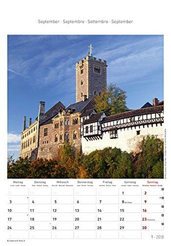 Thüringen 2018 - Bildkalender (24 x 34) - Landschaftskalender - 11