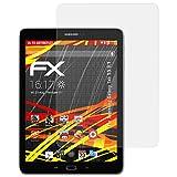 atFoliX Folie für Samsung Galaxy Tab S3 9.7 Displayschutzfolie - 2 x FX-Antireflex-HD hochauflösende entspiegelnde Schutzfolie
