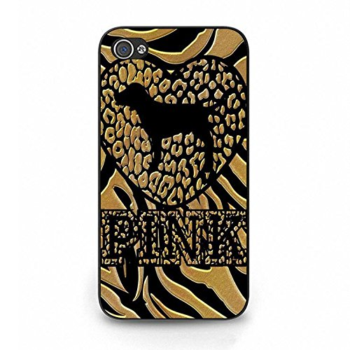 Unique Design of Leopard Victoria's Secret Phone Case Cover for Iphone 4/4s VS The Most popular Brands