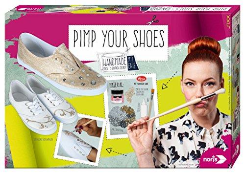 noris 606318078 - Enie - Pimp Your Shoes, Bastelset
