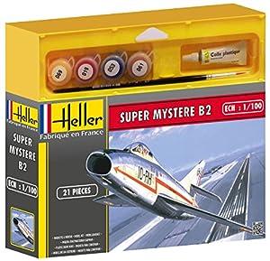 Heller Junior 49040 - Maqueta de Caza Super Mystere B2