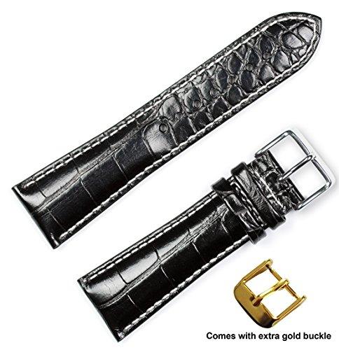 krokodilmaserung-chrono-armband-b-weisse-nahte-schwarz-24-mm-von-debeer