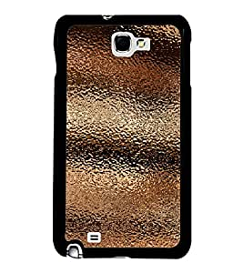 Fuson Premium 2D Back Case Cover Brown Pattern with Grey Background Degined for Samsung Galaxy Note 2::Samsung Galaxy Note 2 N7100