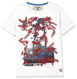 Garcia Kids Jungen T-Shirt O83402, Weiß (Broken White 304), 176