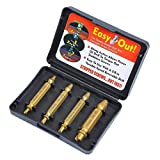 4pcs Damaged Screw Remover Extractor Set Stripped Bolt Remover High Speed Steel