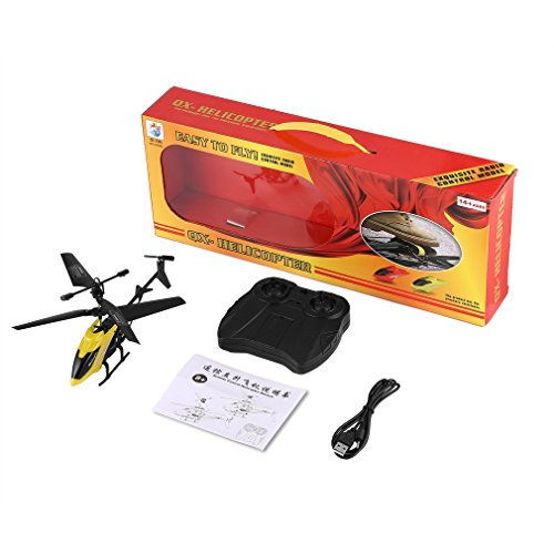 Isuper 2CH Mini RC Helicopter Jouets Télécommande Drone Radio Gyro Enfants Jouets XY802