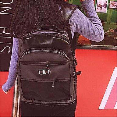Frauen Typ: Sport & Freizeit Tasche PU alle Jahreszeiten Sport im Freien verwenden Professioanl Camping & Wandern Klettern Reißverschluss Blau Schwarz Rot Pink Black