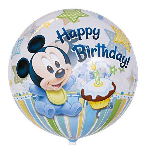 Ballongruesse - Bubble Ballon zum 1. Geburtstag
