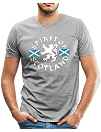 Spreadshirt Spirit Of Scotland Men's Premium T-Shirt