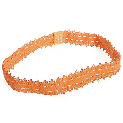 TOOGOO(R) 10 Pcs Couleur couronne imperiale Bandeaux Cheveux Serre-tete Pour Bebe Fille Enfant Bapteme Mariage